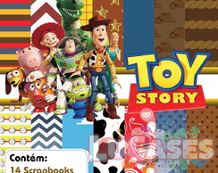 Kit Scrapbook Digital Toy Story Woody Buzz Jessie