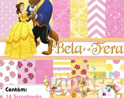 Kit Scrapbook Digital A Bela E A Fera