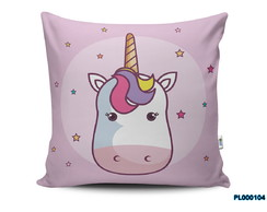 Almofada 40x40 Kawaii Love Unicornio