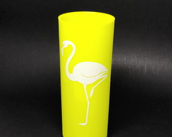 Copo Long Drink Personalizado 300 ml - Flamingo