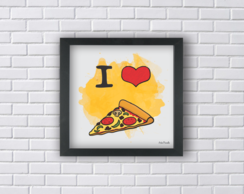 I LOVE PIZZA (Ref:P010)