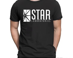 Camiseta Flash Stars Laboratories Série Filme