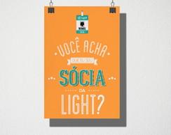 148270fe35 ... Poster A3 Sócia da light