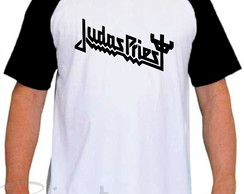 Camiseta Raglan Judas Priest Banda De Rock