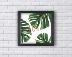 LOVE LEAVES MONSTERA (Ref:P084|V137)