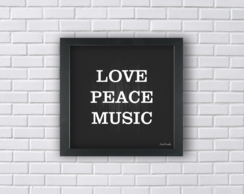 LOVE PEACE MUSIC (Ref:P090)