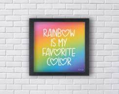 RAINBOW IS MY FAVORITE COLOR (Ref:P093|V185)