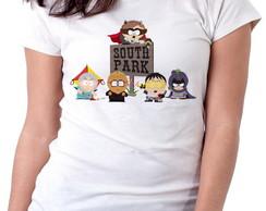 0c96e633ea ... Blusa feminina baby look camiseta south park super herois