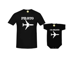 Kit Camiseta Piloto e Co-Piloto
