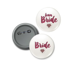 Bottons Bride e Team Bride