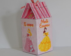 Caixa Milk Princesas Disney