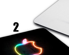 Mouse Pad Mousepad Apple Mac Ios Maça Marca Steve Jobs 22x18
