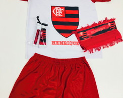 Kit Festa do Pijama flamengo