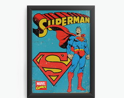 Quadro Decorativo Superman cod614