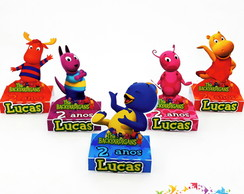 Porta Chocolate Duplo backyardigans