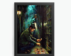 Quadro Decorativo Supernatural cod001