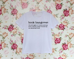 Camiseta Book hangover