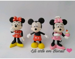 Mickey e Minnie Biscuit