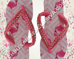 Chinelo Havaianas Top Flamingos Chinelaria Exclusiva