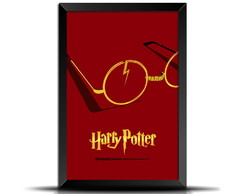 Quadro/Poster Minimalista Harry Potter 3 GM057