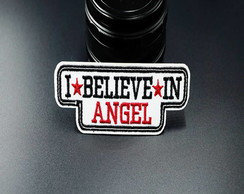 Patches I Believe In Angel/adesivos Termo Colantes