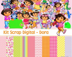 Kit Scrap Digital - Dora Aventureira