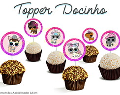 Topper docinho Lol Surprise