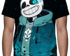 Camiseta Game Undertale - Sans - Estampa Total