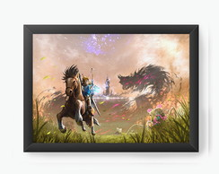 Quadro Decorativo Zelda: Breath Of The Wild cod35