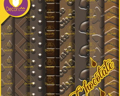 Papel digital Chocolate (Kit 09)