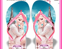 Chinelo personalizado Frozen Paris
