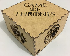 Caixa Game of Thrones em MDF