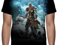 Camiseta Amon Amarth - Jomsviking - Estampa Total