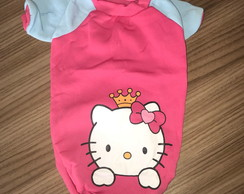 Roupa pet de frio hello kitty