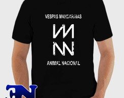 Camiseta Vespas Mandarinas Animal Nacional Rock Camisa