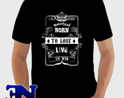 Camiseta Motorhead Born To Lose Live To Win Heavy Metal