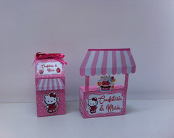 Kit caixa Hello Kitty Patisserie
