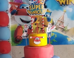Topper de Bolo Super Wings