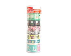Tubo Medio de Washi Tape - WK00765-3