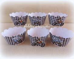 Wrappers cupcake Motocross