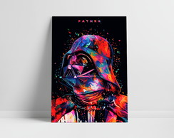 Placa Star Wars Darth Vader