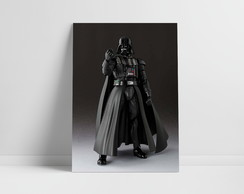 Placa Decorativa Star Wars Darth Vader