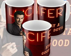 Caneca Série Lucifer Da Fox Stay A Good Devil Modelo 01