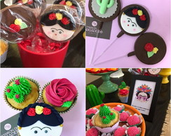 Kit Doces de Festa Mexicana | Frida Kahlo
