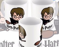 Caneca Harry Potter Bruxinho Minimalista Cartoon
