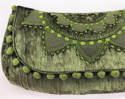 Clutch com Mandala Bordada LH5