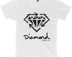Camiseta Hiphop Rap Swag -Diamond Supply - 100% Algodão