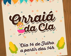 Digital: Convite Whats Festa Junina