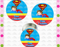 Rotulo Latinha Mint To Be Super Man Baby