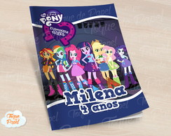 Revista colorir Equestria Girls